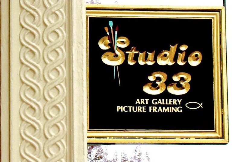 studio 33 art gallery frame historic waterfront district downtown new london