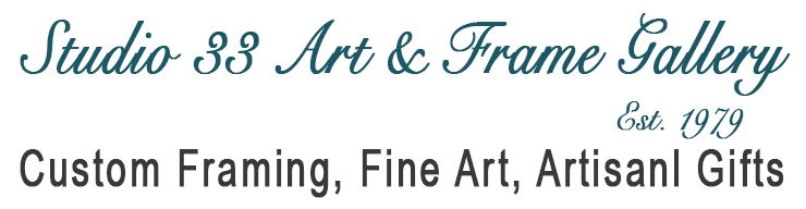 Studio 33 Custom Picture Framing and Art Gallery | Professional ...