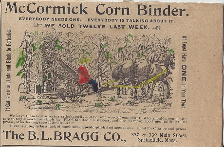 Speak Quick - The B.L. Bragg Co., Clark van der Lyke, Hand Colored Vintage Ephemera on Rag Mat, Postcard #47, $TBD