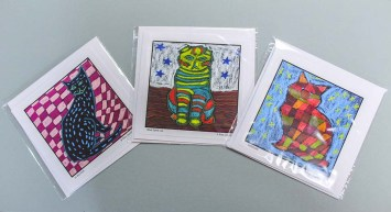 Original Art Cards by Rita Dawley