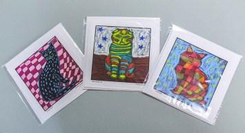 Original Art Cards by Rita Dawley