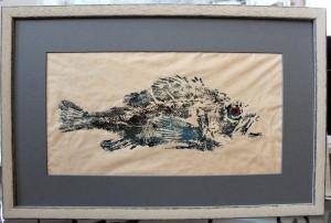 Fish Print- After