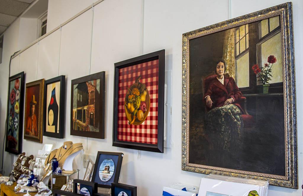 Paintings of Artist John Martin, Founder of Studio 33 Art & Frame Gallery