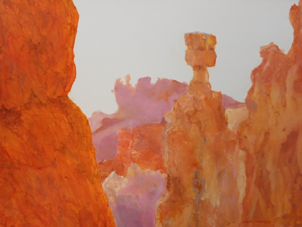 bryce canyon national park robert j hauschild watercolor