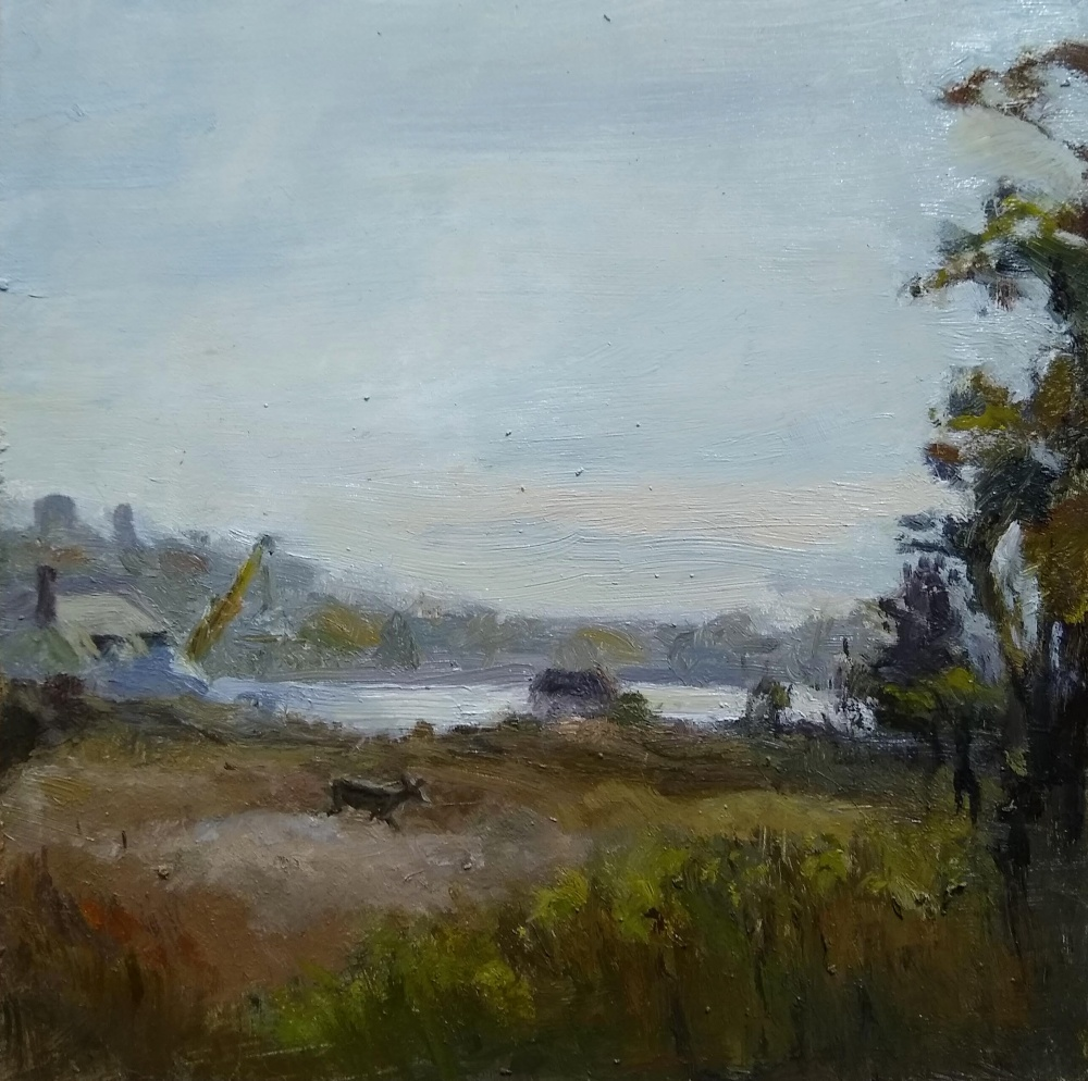 Waterford Beach, Laura Natusch, Oil On Panel, $300