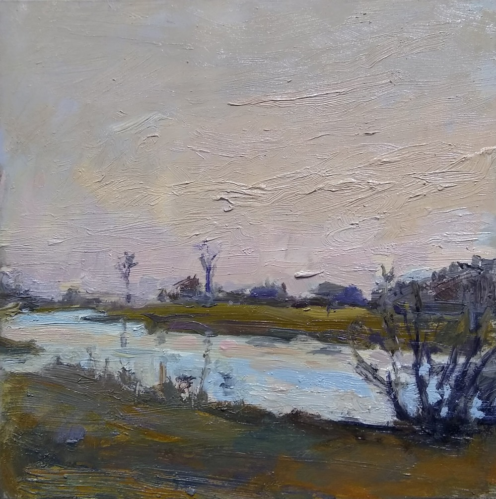 Harkness, Laura Natusch, Oil On Panel, 8x8, $275