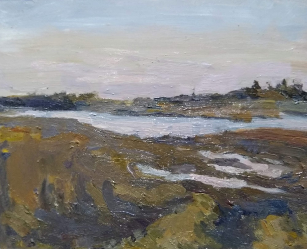 Morning Light, Laura Natusch, Oil On Panel, 12x12, $275
