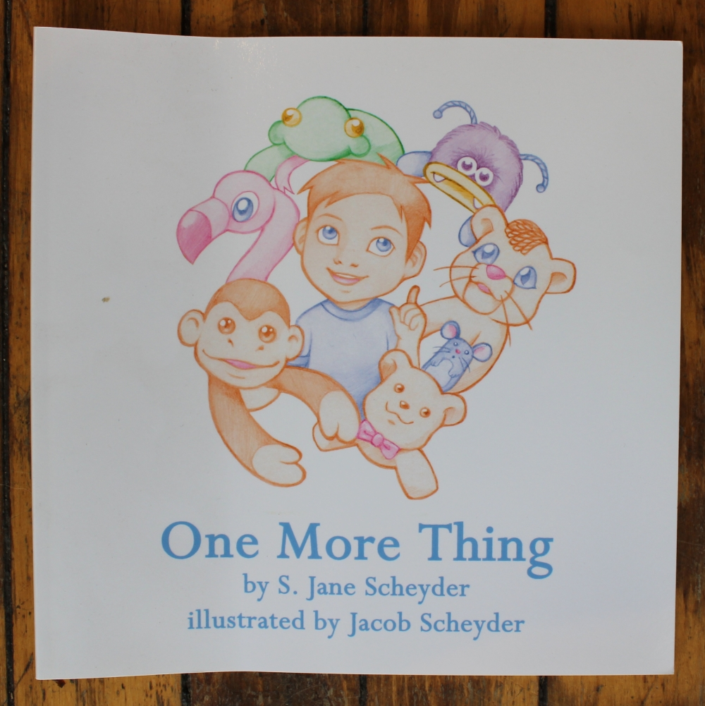 One More Thing by S. Jane Scheyder