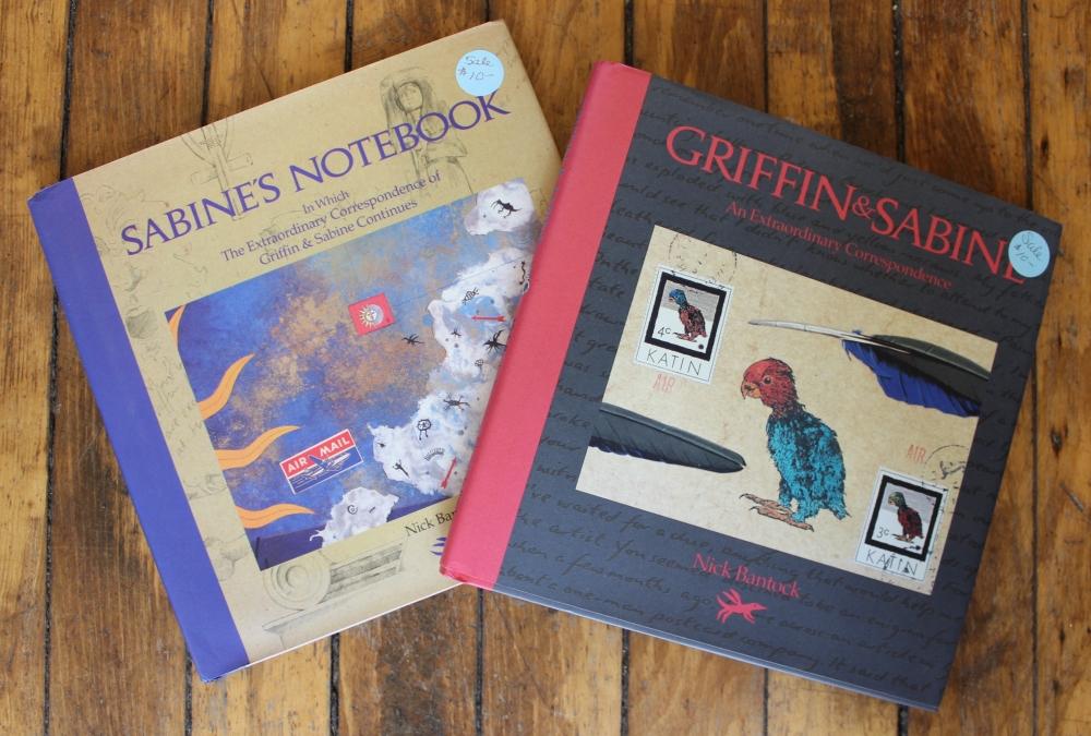 Sabine's Notebook, Griffin & Sabine by Nick Bantock